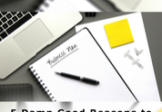 Why review your Business Plan?
